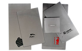 Pad Printing Plates (Cliches) in Polymer, Thin Steel & Thick