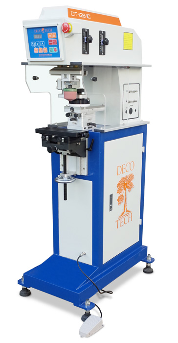 DT-125-1C Low Cost 1 Color Pad Print Machine from DECO TECH