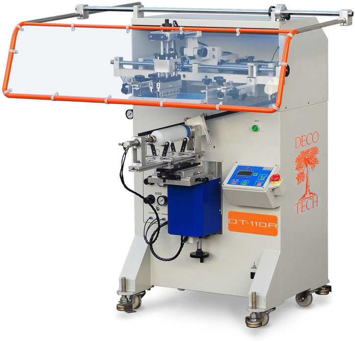 Dt 110r Semi Automatic Screen Printer For Cylindrical