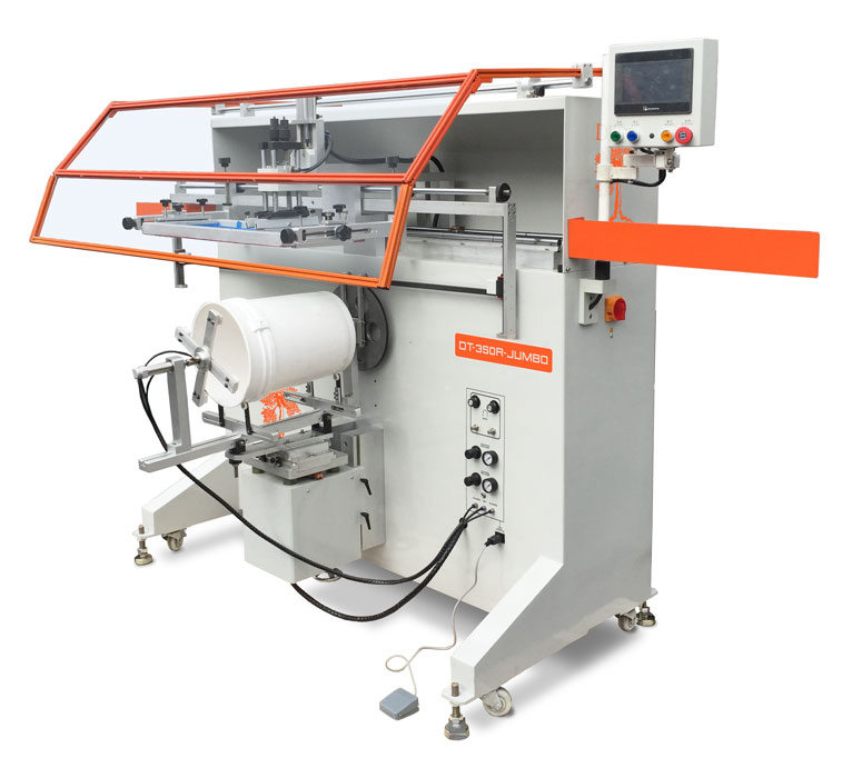 Dt 350r Semi Automatic Jumbo Screen Printer For Large