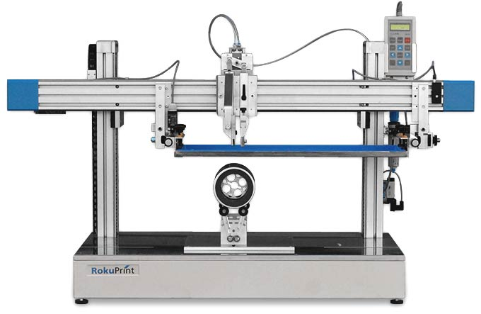 Rp 2 2 Modular Screen Print Machine For Flat And Round