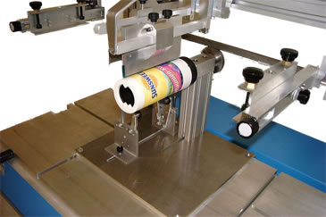 Applications of the RP-2 2 modular screen print machine for flat and